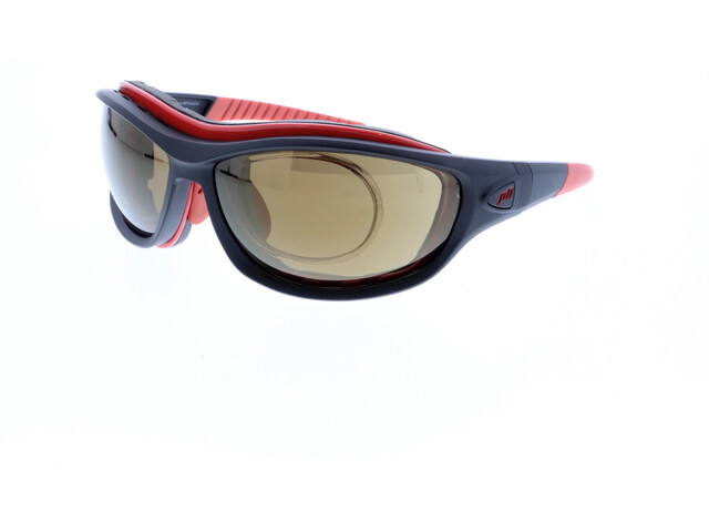 Jill Sport J-SP105 Lunettes de soleil, black-red